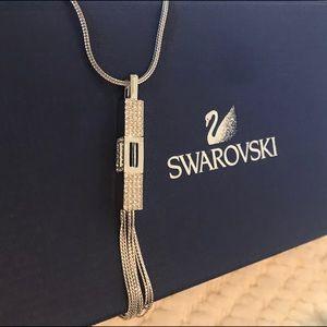 Swarovski long pendant necklace